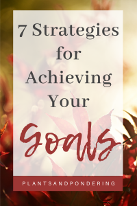 pinterest graphic for september 2020 goals