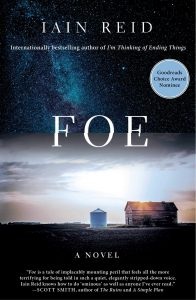 cover image of foe by iain reid
