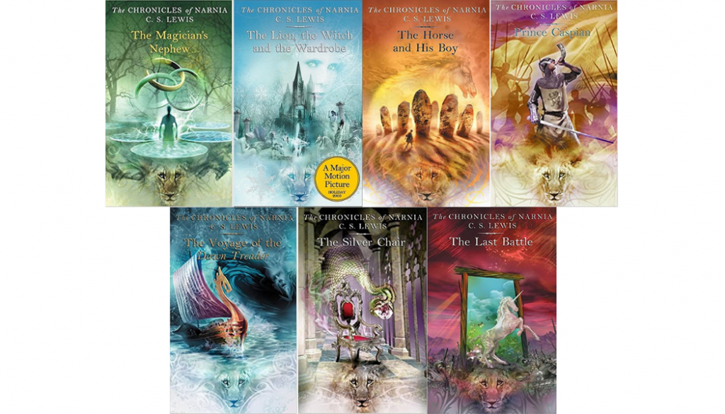 photo of narnia books