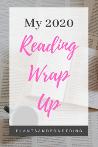 pinterest graphic for 2020 reading wrap up