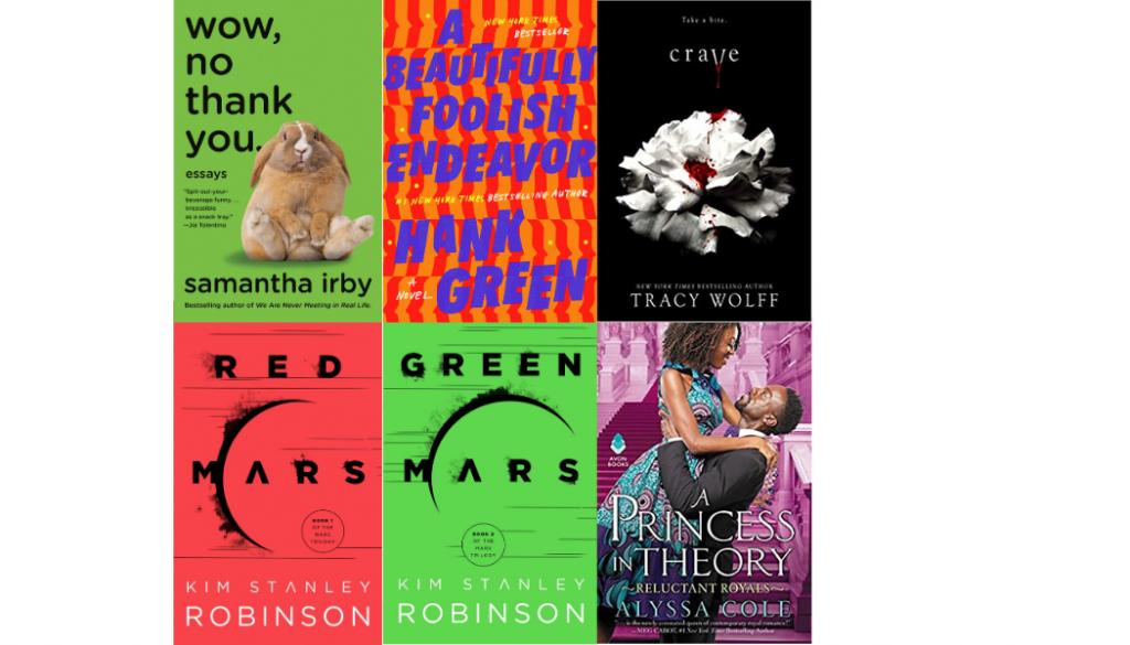 photo of 2020 favorite books