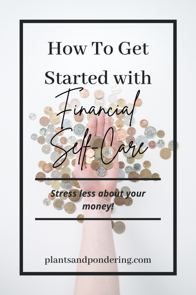 pinterest graphic for financial self care